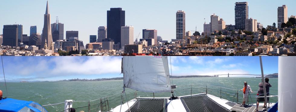 San Francisco Gluten-Free Adventurecat Catamaran