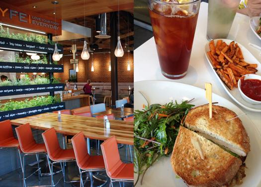 LYFE Kitchen Culver City - a Gluten-free menu and tasty ...