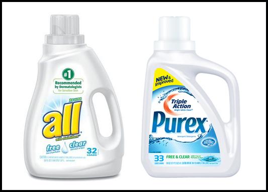 All Laundry Detergent Packs