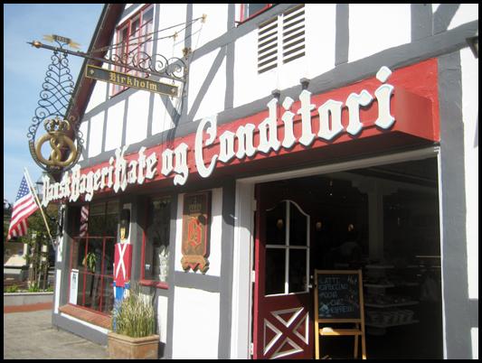 Birkholm's Bakery ~ hands down the BEST Sarah Bernhardt cookies in Solvang!