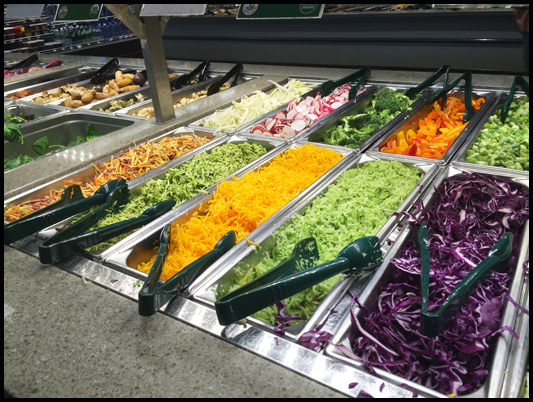 Whole foods market 39 s lunch buffets wednesday discounts for Organic food bar