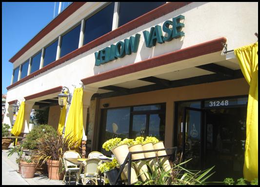 Yellow Vase Cafe Menu Vase And Cellar Image Avorcor