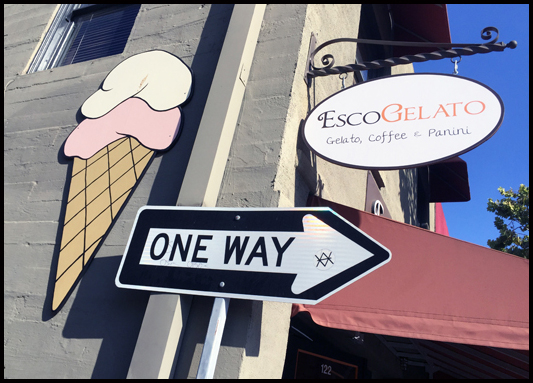 EscoGelato signage