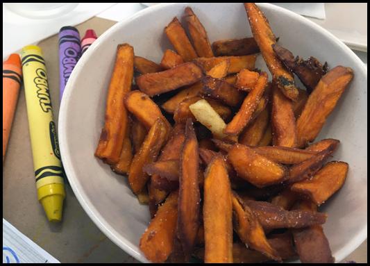 Sweet Potato Fries - The Mixx
