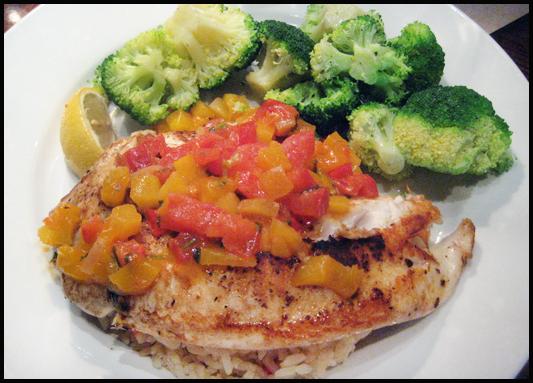Lonhgorn Steakhouse Chicken Rice Broccoli