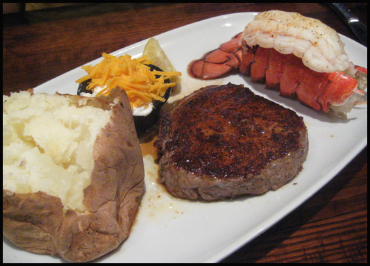 Longhorn Steakhouse ~ Legendary steaks, fresh chicken & fish, & a gluten-free menu