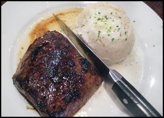 Longhorn Steakhouse Flat Iron Steak Potatoes